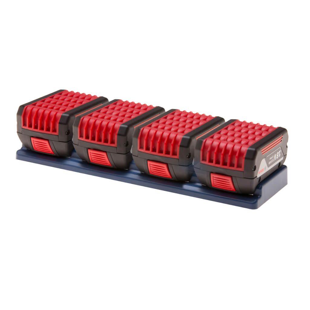 Battery mount holder for Bosch 18v