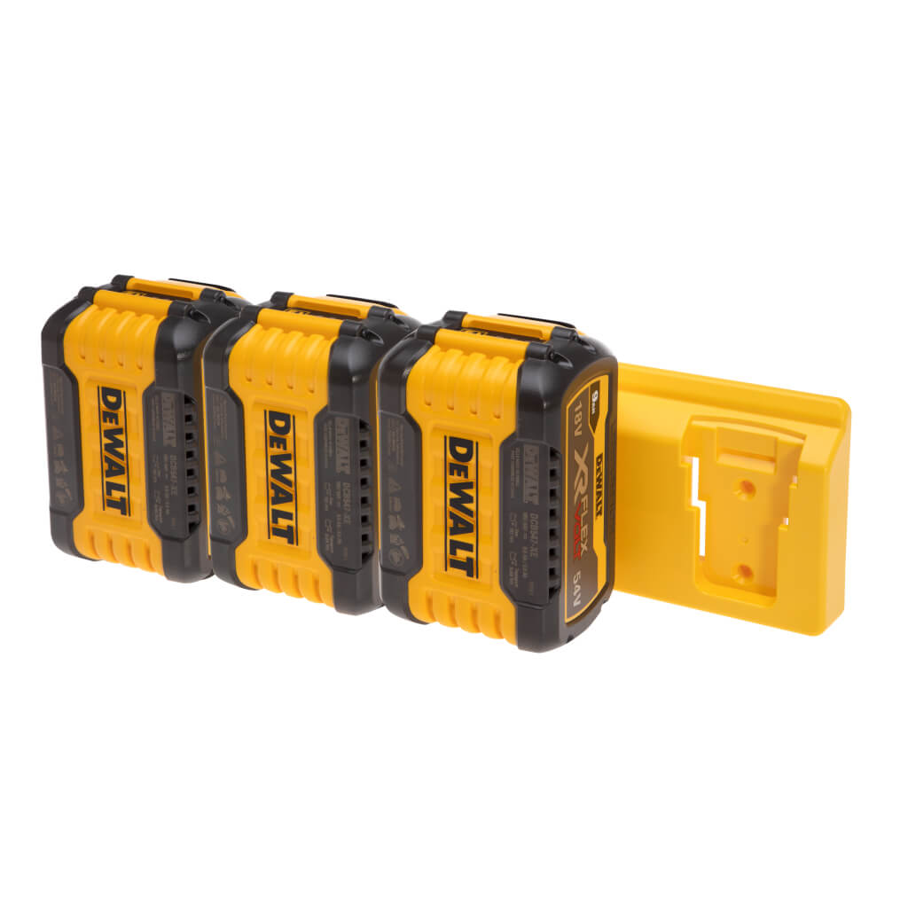 battery mount holder for Dewalt flexvolt 48 tools