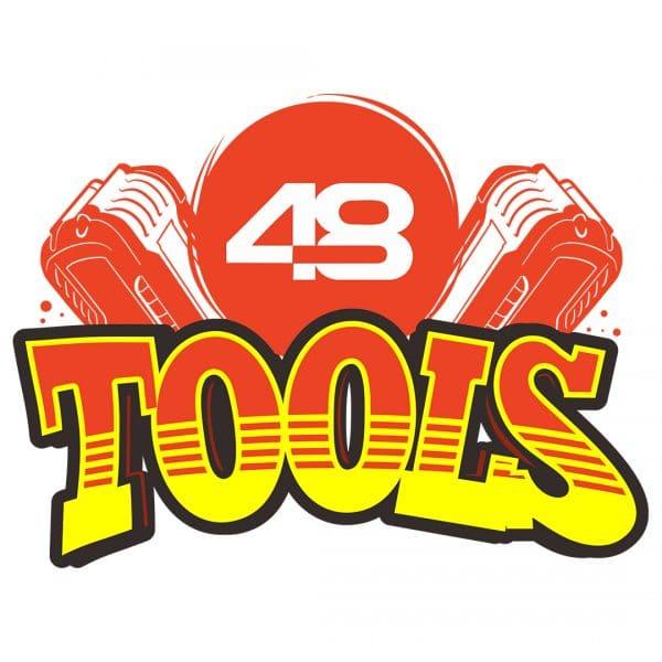 48 Tools Battery Sticker