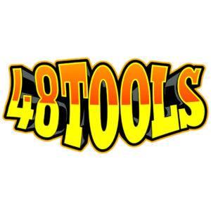 48 Tools Retro Sticker
